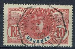 "Dahomey (Benin), 10c. Louis Faidherbe, French General, 1906, VFU  ""MATADI à BORDEAUX"" - Used Stamps"