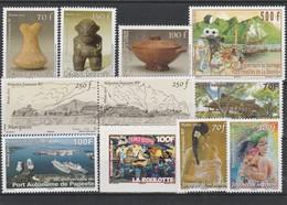 LOT 2003 POLYNESIE N°953-954-955-972-973-974-979-980-981-982-983 FACIALE** - Polynésie Française