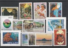LOT 2004 POLYNESIE N°934-939-940-941-948-949-950-951-952-957-958-959-975 FACIALE** - Polynésie Française