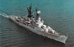 U.S.S.  Mitscher (DDG-35) - Krieg