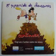CD AVEC FLYERS HANDICAP INTERNATIONAL ILLUSTRE PAR ZEP TITEUF 2002 - Disques & CD