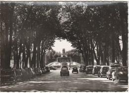 Aix En Provence Cours Mirabeau Et La Grande Fontaine - Aix En Provence