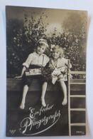 Pfingsten,  Kinder, Mode, Maikäfer Sammeln,   1912  ♥  - Pentecôte