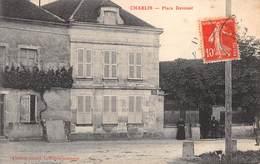 89 -   CPA CHABLIS Place Davoust - Chablis