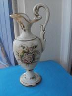 Aiguiere Porcelaine Italienne LE TORRI Hauteur 37.5 Cm - Céramiques