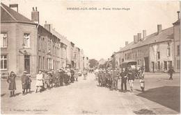 Dépt 08 - VRIGNE-AUX-BOIS - Place Victor-Hugo - (J. Winling, édit.) - Other Municipalities