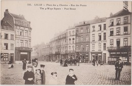 CP LILLE PLACE 4 CHEMINS - Lille