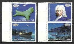 CHRISTMAS ISLAND 1986 HALLEY'S COMET SET MNH - Christmas Island