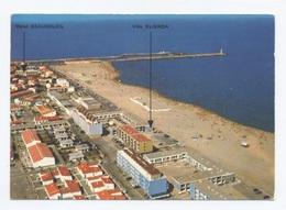 11-PORT LA NOUVELLE -Vue Aérienne Sur La Plage, Le Canal Et Le Boulevard Front De Mer    -RECTO / VERSO-B84 - Port La Nouvelle