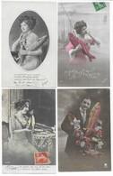1er Avril Poisson D' Avril Lot De 16 CPA - Cartoline