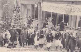 VILLECOMTAL JUILLET 1911 BANQUET DE 400 COUVERTS ORGANISÉ PAR M. DOURANJOU ...... ( Peu Courante ) - Autres Communes