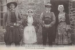 29)  Costumes Anciens De La Région De DOUARNENEZ Et QUIMPER - Concours De Costumes - Douarnenez