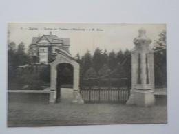 1910 CP Eecloo Eeklo Entrée Du Château Pinehurst à M. Ecke - Eeklo