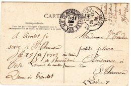 Carte  Postale  1909  ILE De PORQUEROLLES - Francia
