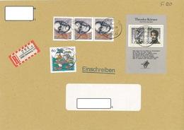 Bund Einschreiben Hamburg 11.1.1993 - Storia Postale