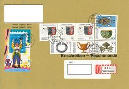 Bund Einschreiben Linnich 4.4.95 - Storia Postale