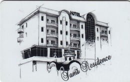 SERBIA Hotel Keycard - Tami Residence, Used - Hotelkarten
