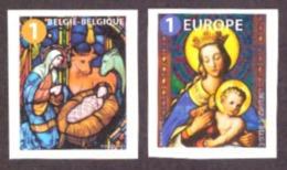 Belgique 2019 - Nöel  /Christmas  Cond. MNH (  Auto-adhésif ) National + Europe - Unused Stamps