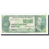 Billet, Bolivie, 50,000 Pesos Bolivianos, 1984, 1984-06-05, KM:170a, SPL+ - Bolivie