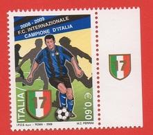 2009 (3098) Lo Scudetto All'Inter Con Bandella - 6. 1946-.. Repubblica