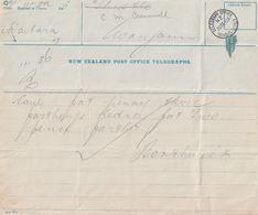 Wanganui 1912 New Zealand Antique Telegram - Nieuw-Zeeland