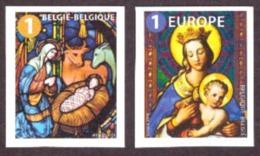 Belgique 2019 - Nöel  /Christmas  Cond. MNH (  Auto-adhésif ) National + Europe - Ongebruikt
