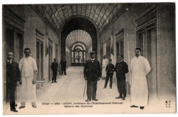 CPA 03 - VICHY (Allier) - 480. Etablissement Thermal, Galerie Des Hommes - Vichy