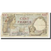 France, 100 Francs, Sully, 1942, P. Rousseau And R. Favre-Gilly, 1942-04-23, TB - 1871-1952 Anciens Francs Circulés Au XXème