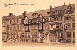 Nieuport Nieuwpoort - Quelques Villas à La Digue (1938) - Nieuwpoort