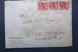 Deutsche Post: 1948 Cover To Kiel (#RV3) - Covers & Documents