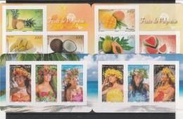 LOT 2022 POLYNESIE N°1023 à 1028 - 1035 à 1040 -1120 à 1125 ** FACIALE - Französisch-Polynesien