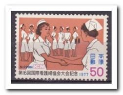 Japan 1977, Postfris MNH, 16th Congress Of The International Association Of Nurses - 1926-89 Emperor Hirohito (Showa Era)