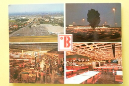 V10-67-bas-rhin--libre Marche Geant BAGG-route Colmar Strabourg--vue Generale -aerienne- Parking- Interieur- Resto BAGG - Strasbourg