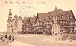 Nieuport Nieuwpoort -  Villa Crombez Et Grand Hôtel (animée) - Nieuwpoort