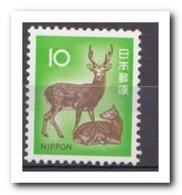 Japan 1972, Postfris MNH, Deer - 1926-89 Emperor Hirohito (Showa Era)