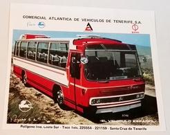 Ancienne Publicité Extraite Du Magazine - Véhicule Commercial Atlantique De Tenerife, PEGASO   - 12,5x14 Cm - Reklame