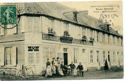 76 - ANNEVILLE SUR SCIE - Maison Morisse - Vins Restaurant, épicerie Et Mercerie - France