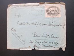 Brasilien 1937 Nr. 465 EF 100. Geburtstag Von Francisco Pereira Passos Beleg Nach Reinholdshain - Brazil