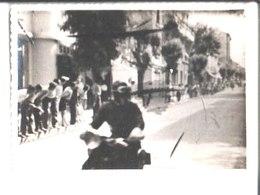 Juan Les Pins. Tour De France Photo 1947.Le Tour De France Arrive. - Wielrennen