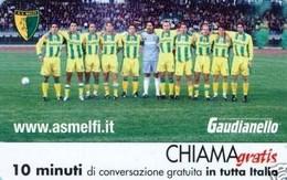 *CHIAMAGRATIS - N.996 - A.S. MELFI* - Scheda NUOVA (MINT) (DT) - Italia
