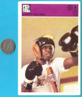 MUHAMMAD ALI - CASSIUS CLAY ... Yugoslavia Vintage Boxing Card Svijet Sporta * Very Large Size * USA - Kleding, Souvenirs & Andere