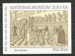1992 MNH Schweden, Sweden, Sverige, Booklet, Postfris - Carnets
