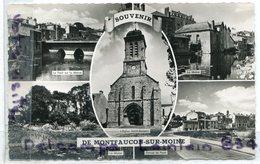 - Souvenir De Montfaucon Sur Moine - ( Maine Et Loire ), Multi Vues, Petit Format, Non écrite, TBE, Scans. - Autres Communes