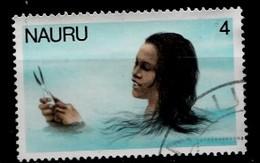 Nauru 1978  Mi.nr.:165 Nauru-Mädchen Beim Fischfang  Oblitérés / Used / Gestempeld - Nauru