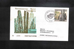 Germany / Deutschland 2003 Stoned Forest Chemnitz FDC - Geologie