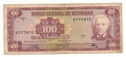 Nicaragua 100 Cord. 1972. F+. - Nicaragua