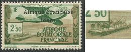 AFRIQUE EQUATORIALE FRANCAISE - AEF - A.E.F. - 1940 - YT PA 15** - VARIETES - A.E.F. (1936-1958)