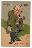 """1er Avril --illustrateur   SER-- """"C'est Bien Ma Poche.....n'y Est Pas"""".............à Saisir - 1° Aprile (pesce Di Aprile)"""