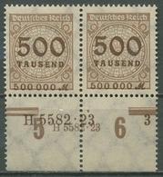 Deutsches Reich 1923 Hausauftragsnummer 313 AP HAN Postfrisch - Deutschland