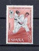 SPAGNA  :  X Campionato Mondiale Di JUDO - Barcellona - 1 Val.  MNH**  Del  29.12.1977 - Judo